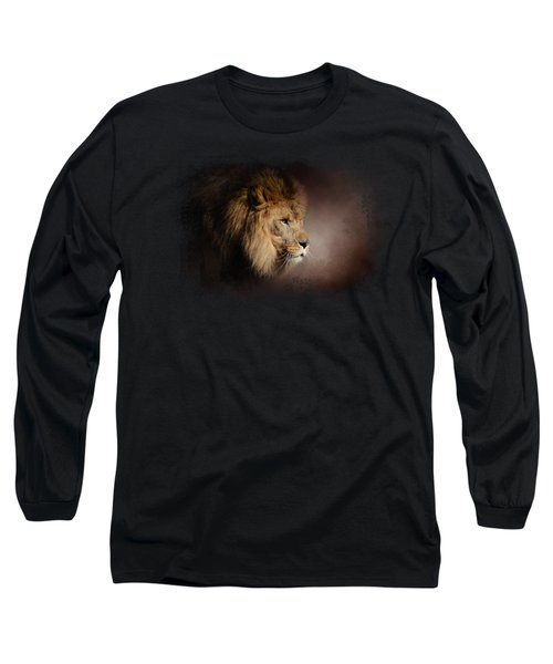 The Mighty Lion Long Sleeve T-Shirt by Jai Johnson