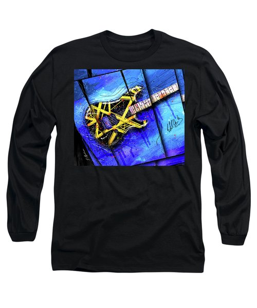 The Yellow Jacket_cropped Long Sleeve T-Shirt by Gary Bodnar