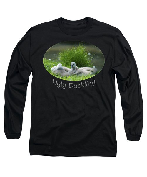 Ugly Duckling Long Sleeve T-Shirt by Richard Gibb