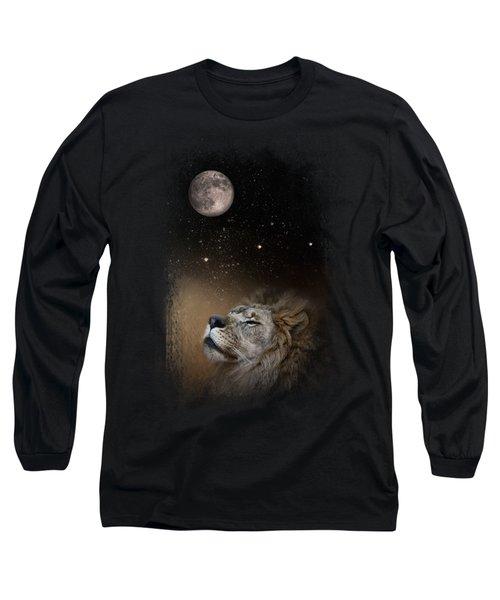 Under The Moon And Stars Long Sleeve T-Shirt by Jai Johnson