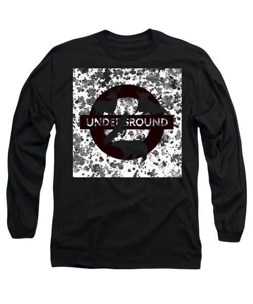 Underground 1 Long Sleeve T-Shirt by Alberto RuiZ