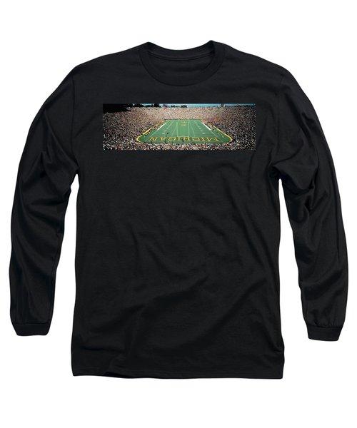 University Of Michigan Stadium, Ann Long Sleeve T-Shirt by Panoramic Images