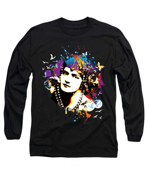 Victorian Temptation - Bespattered Long Sleeve T-Shirt by Chris Andruskiewicz