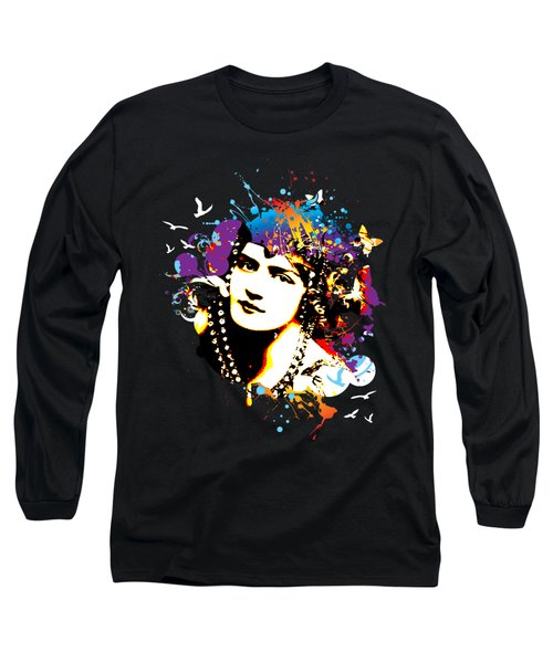Victorian Temptation Long Sleeve T-Shirt by Chris Andruskiewicz