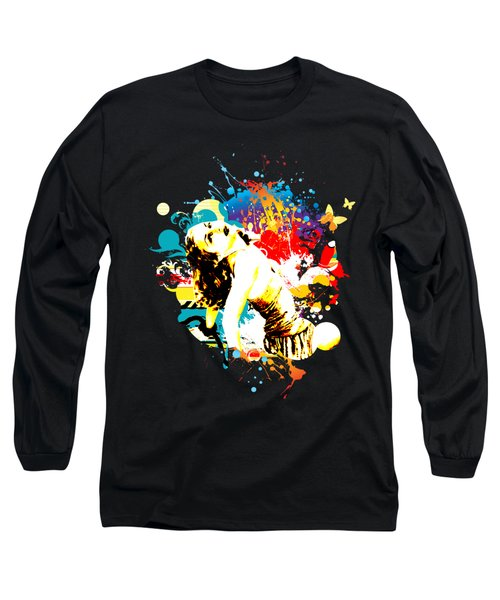 Vixen Subdued Long Sleeve T-Shirt by Chris Andruskiewicz