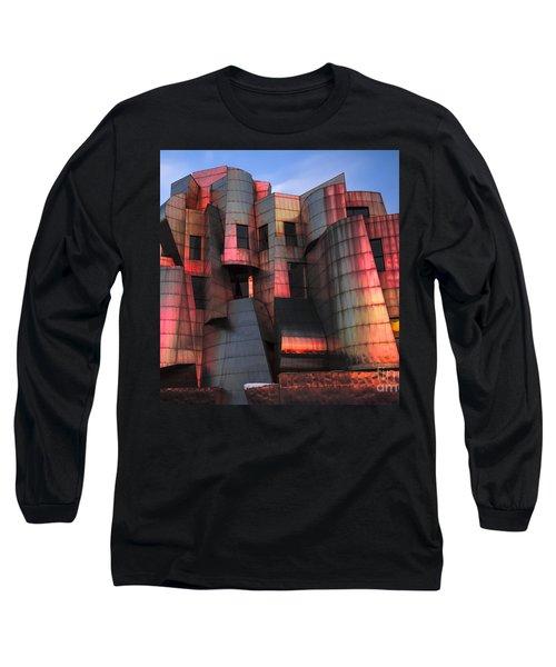 Weisman Art Museum At Sunset Long Sleeve T-Shirt by Craig Hinton