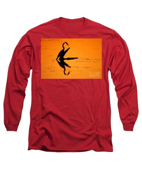 Anhinga Long Sleeve T-Shirt by Art Wolfe