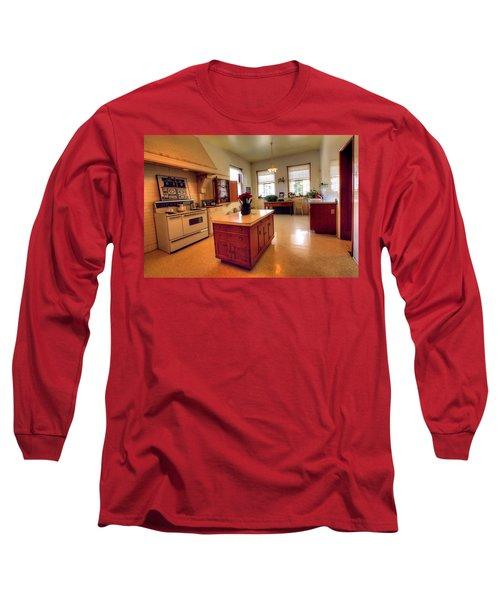 Glensheen Mansion Duluth Long Sleeve T-Shirt by Amanda Stadther