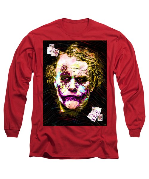 Clown With Zero Empathy Long Sleeve T-Shirt by Daniel Janda