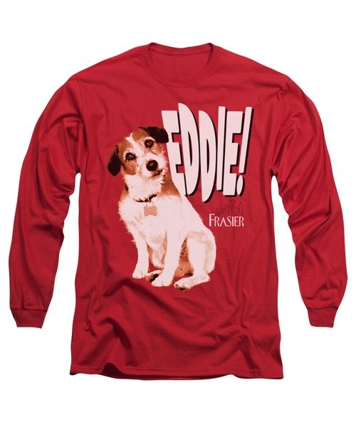 Frasier - Eddie Long Sleeve T-Shirt by Brand A
