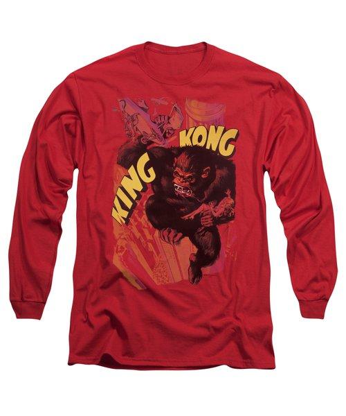 King Kong - Plane Grab Long Sleeve T-Shirt by Brand A