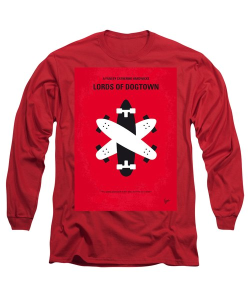 No188 My The Lords Of Dogtown Minimal Movie Poster Long Sleeve T-Shirt by Chungkong Art