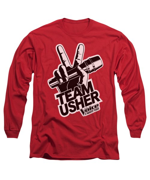 The Voice - Usher Logo Long Sleeve T-Shirt by Brand A
