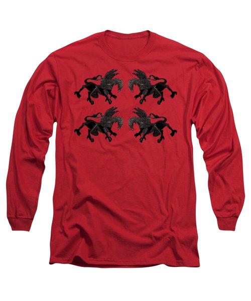Dragon Cutout Long Sleeve T-Shirt by Vladi Alon