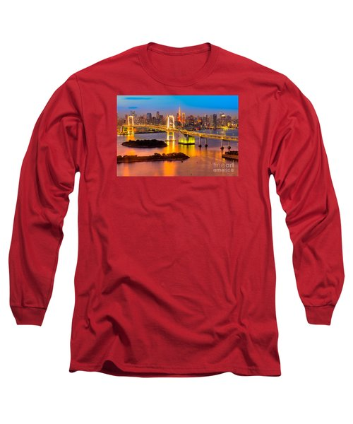 Tokyo - Japan Long Sleeve T-Shirt by Luciano Mortula