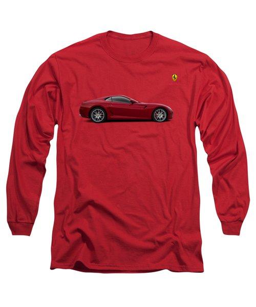 Ferrari 599 Gtb Long Sleeve T-Shirt by Douglas Pittman