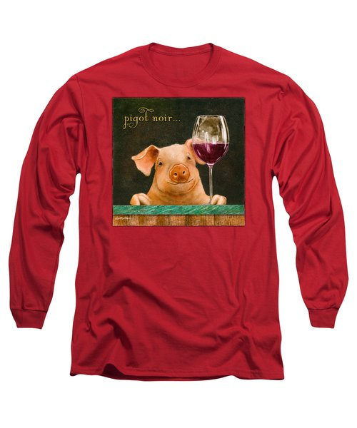 Pigot Noir... Long Sleeve T-Shirt by Will Bullas