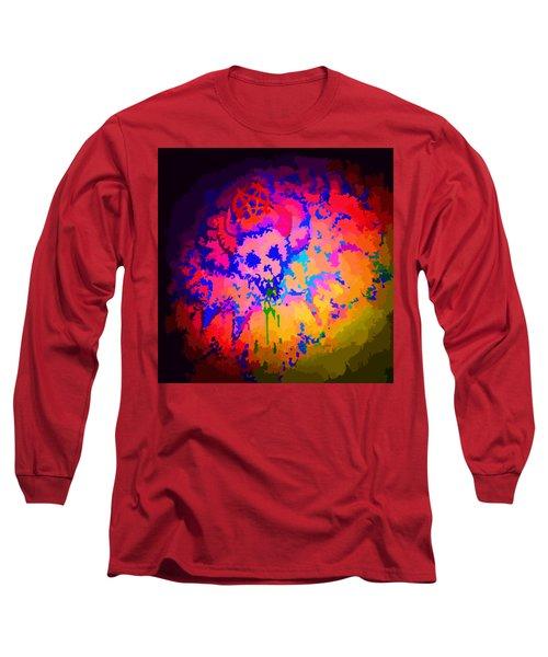 Acid Bat Long Sleeve T-Shirt by Jordan Kotter