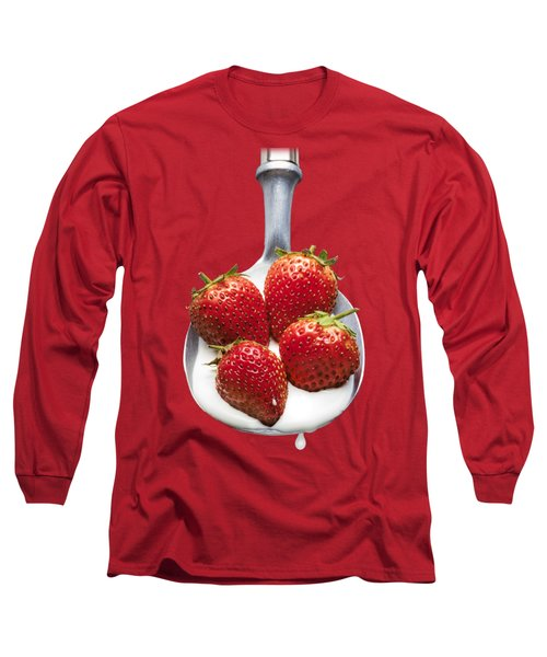 Good Enough To Eat Long Sleeve T-Shirt by Jon Delorme