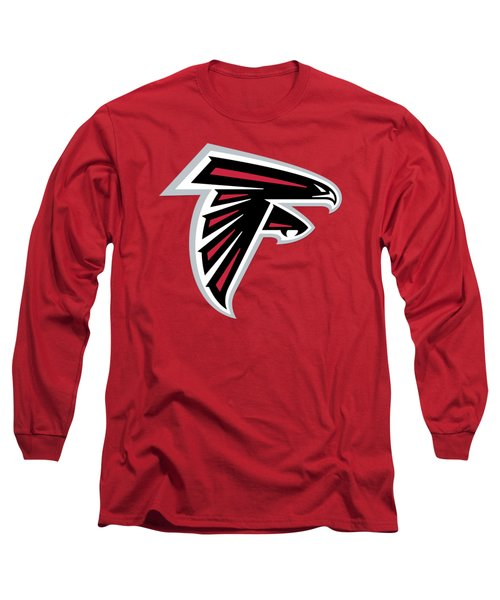 Atlanta Falcons  Long Sleeve T-Shirt by Mitro Dente