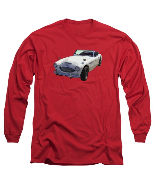 Austin Healey 300 Classic Convertible Sportscar  Long Sleeve T-Shirt by Keith Webber Jr