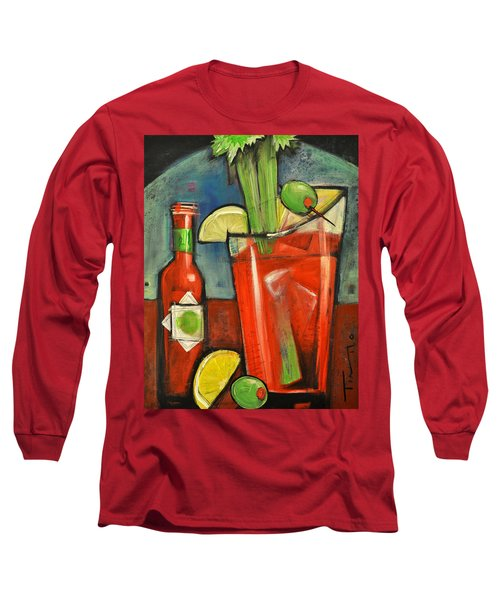Bloody Mary Long Sleeve T-Shirt by Tim Nyberg