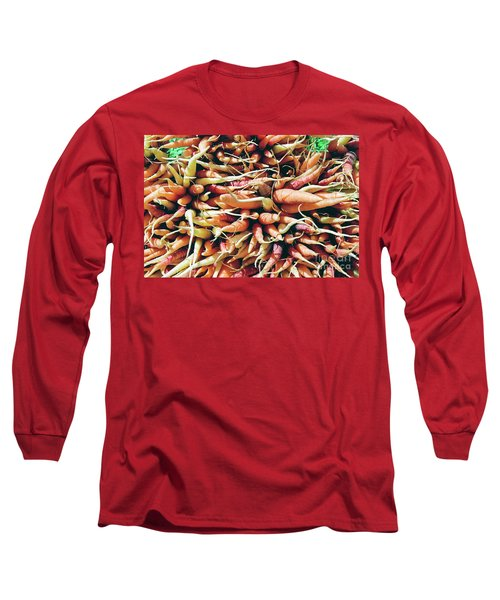 Carrots Long Sleeve T-Shirt by Ian MacDonald