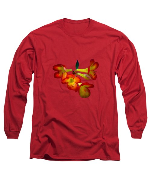 Color Burst Long Sleeve T-Shirt by Mark Andrew Thomas