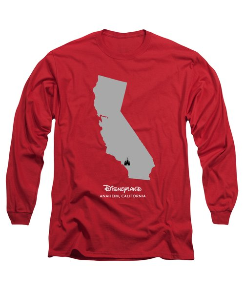 Disneyland Long Sleeve T-Shirt by Nancy Ingersoll