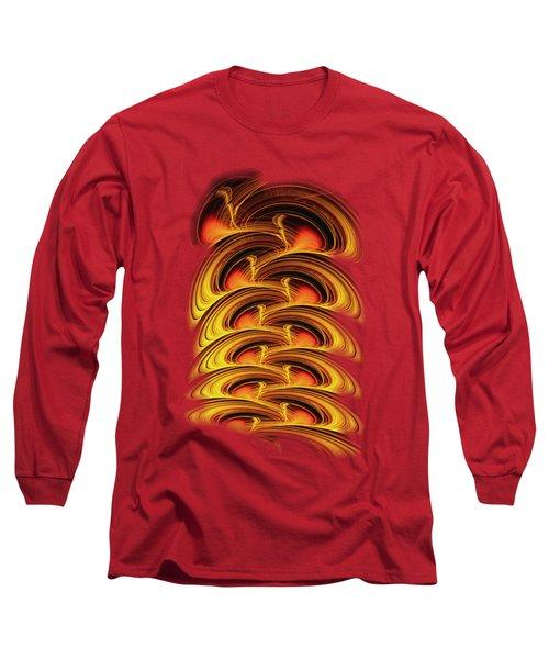 Inferno Long Sleeve T-Shirt by Anastasiya Malakhova