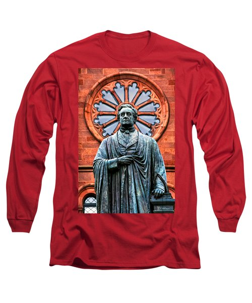 James Smithson Long Sleeve T-Shirt by Christopher Holmes