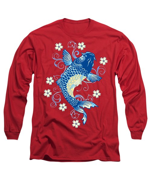KOI Long Sleeve T-Shirt by Otis Porritt