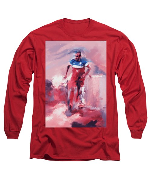 Landon Donovan 545 2 Long Sleeve T-Shirt by Mawra Tahreem