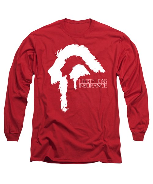 Liberty Lions Logo Long Sleeve T-Shirt by Ryan Anderson