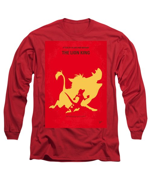 No512 My The Lion King Minimal Movie Poster Long Sleeve T-Shirt by Chungkong Art