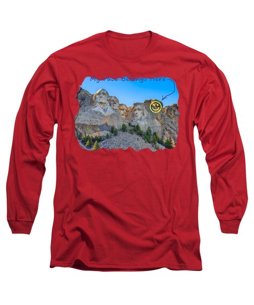 One More Long Sleeve T-Shirt by John M Bailey