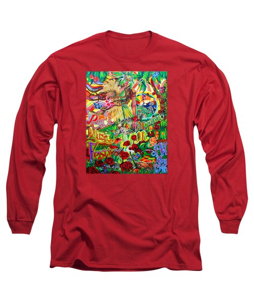 Peach Music Festival 2015 Long Sleeve T-Shirt by Kevin J Cooper Artwork