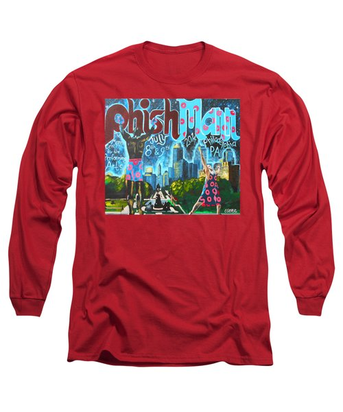Phishmann Long Sleeve T-Shirt by Kevin J Cooper Artwork