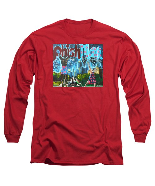 Phishmann Long Sleeve T-Shirt by Kevin J Cooper Artwork