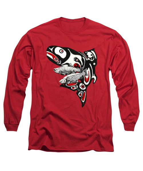 Quin'nat Long Sleeve T-Shirt by Julio Lopez