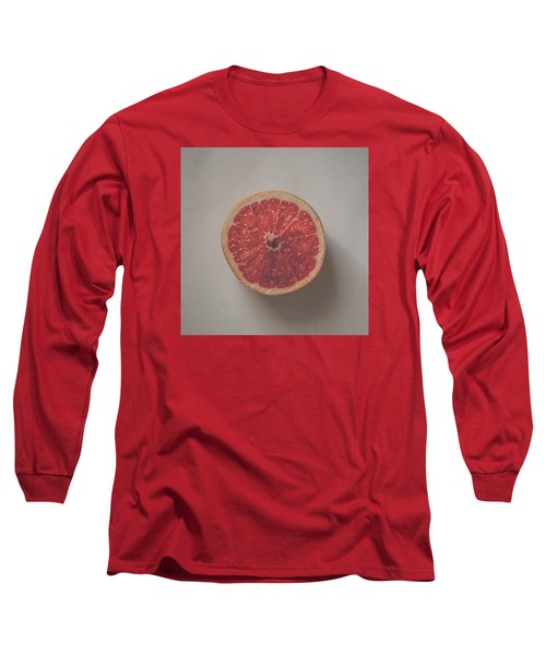 Red Inside Long Sleeve T-Shirt by Kate Morton