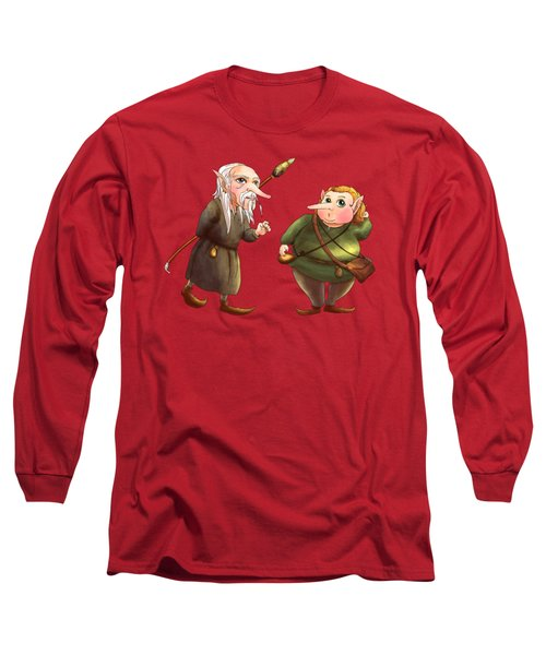 Rupert And Shuman Long Sleeve T-Shirt by Reynold Jay