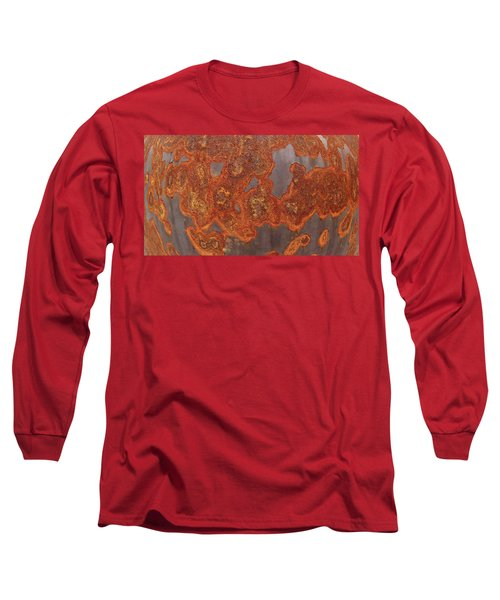 Rusty No. 1 Long Sleeve T-Shirt by Sandy Taylor