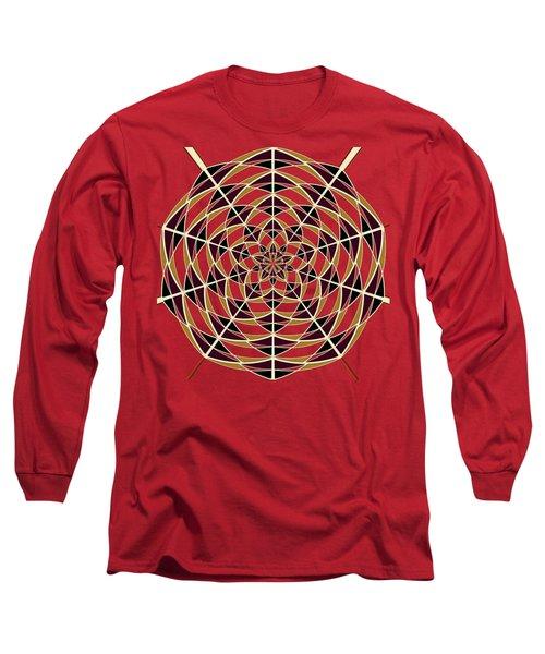 Spider Web Long Sleeve T-Shirt by Gaspar Avila
