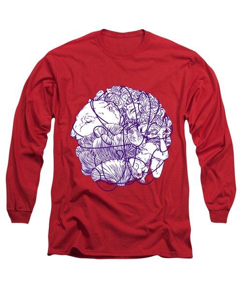 Stuff Long Sleeve T-Shirt by Evgenia Chuvardina