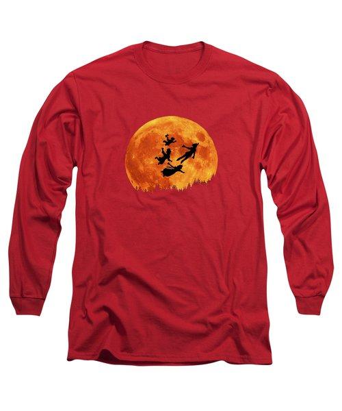 Take Me To Neverland Long Sleeve T-Shirt by Koko Priyanto