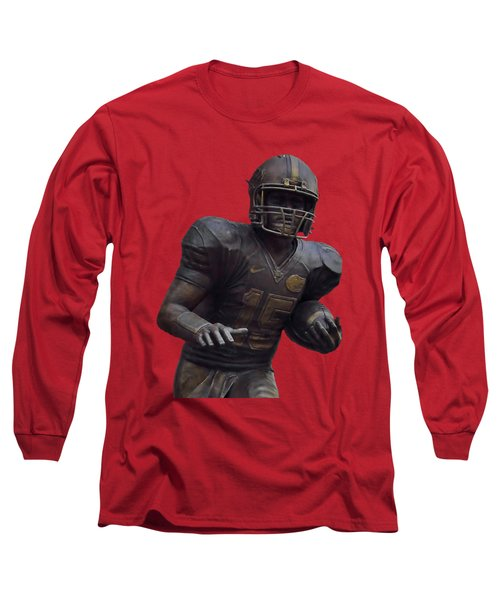 Tebow Transparent For Customization Long Sleeve T-Shirt by D Hackett