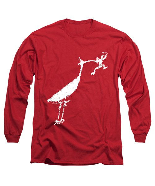 The Crane Long Sleeve T-Shirt by Melany Sarafis