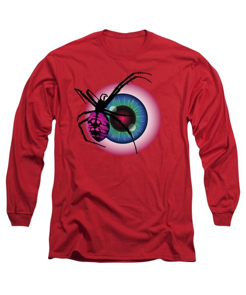 The Eye Of Fear Long Sleeve T-Shirt by MM Anderson