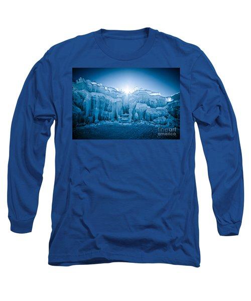 Ice Castle Long Sleeve T-Shirt by Edward Fielding